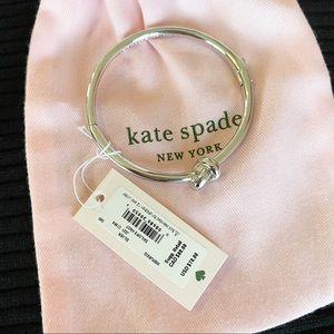 KATE SPADE NEW YORK SAILOR'S KNOT HINGE BANGLE